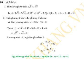 Phương pháp giải bài tập hàm số bậc hai, bậc nhất lớp 10