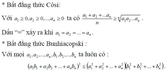 Giải bất phương trình vô tỉ bằng bất đẳng thức