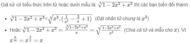 Giới hạn hàm số dạng vô cùng trên vô cùng