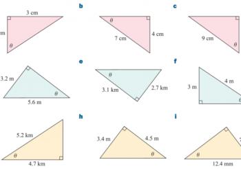Hệ thức lượng trong tam giác lớp 10 - Công thức và bài tập