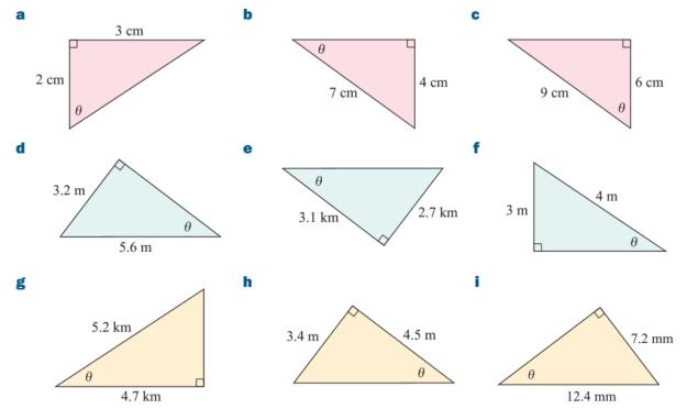 Hệ thức lượng trong tam giác lớp 10 – Công thức và bài tập
