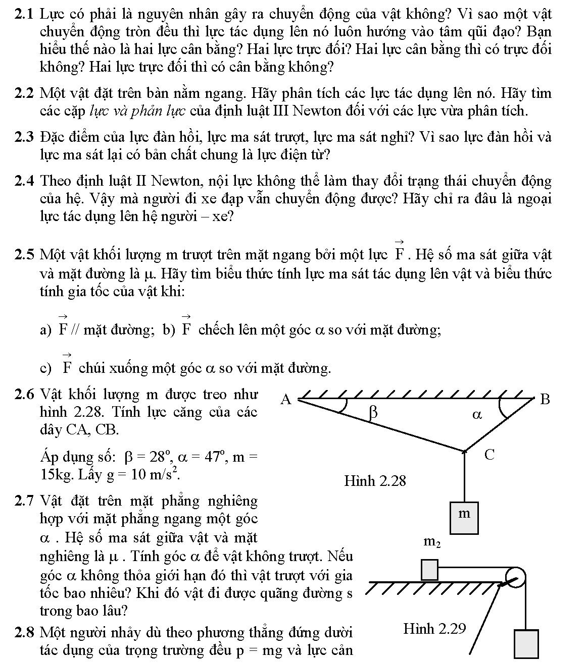 Lý thuyết động lực học chất điểm