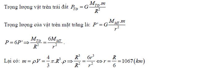 lực hấp dẫn định luật vạn vật hấp dẫn