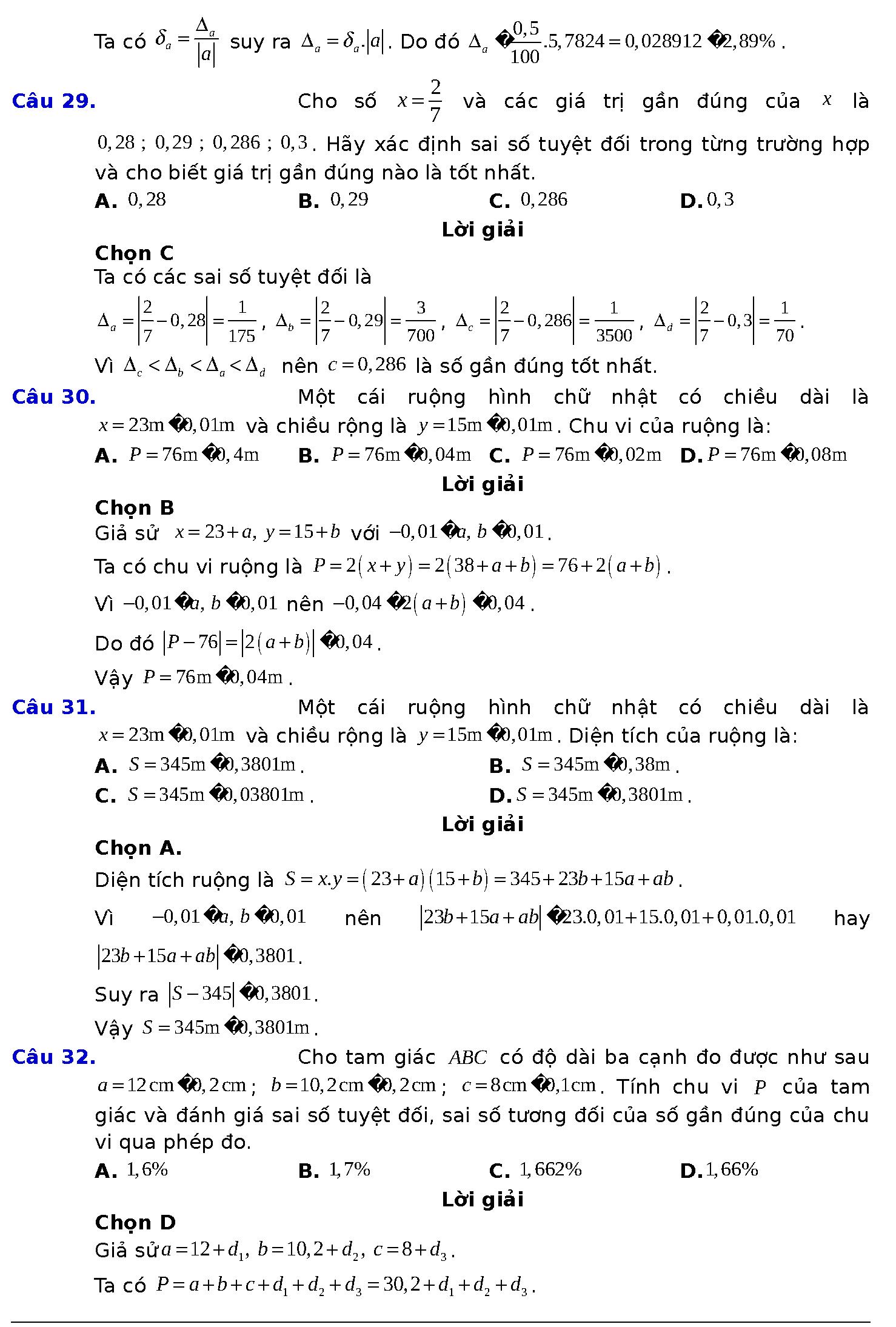 bài 1 trang 23 sgk toán 10