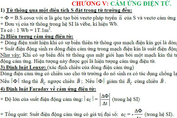 Trắc nghiệm vật lý 11 chương 5 có đáp án file pdf chi tiết