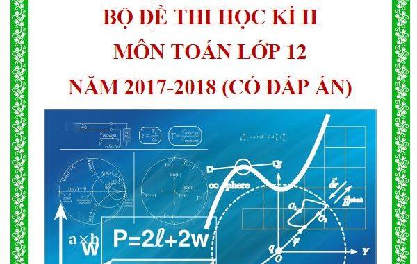 đề thi hk2 toán 12