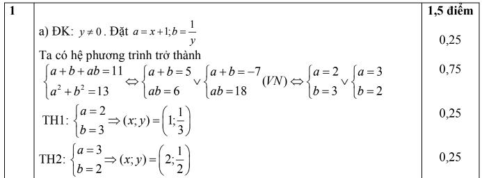 Đề thi học sinh giỏi toán 11 cấp tỉnh