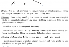 Tổng hợp 5 chuyên đề bồi dưỡng học sinh giỏi hình học 7